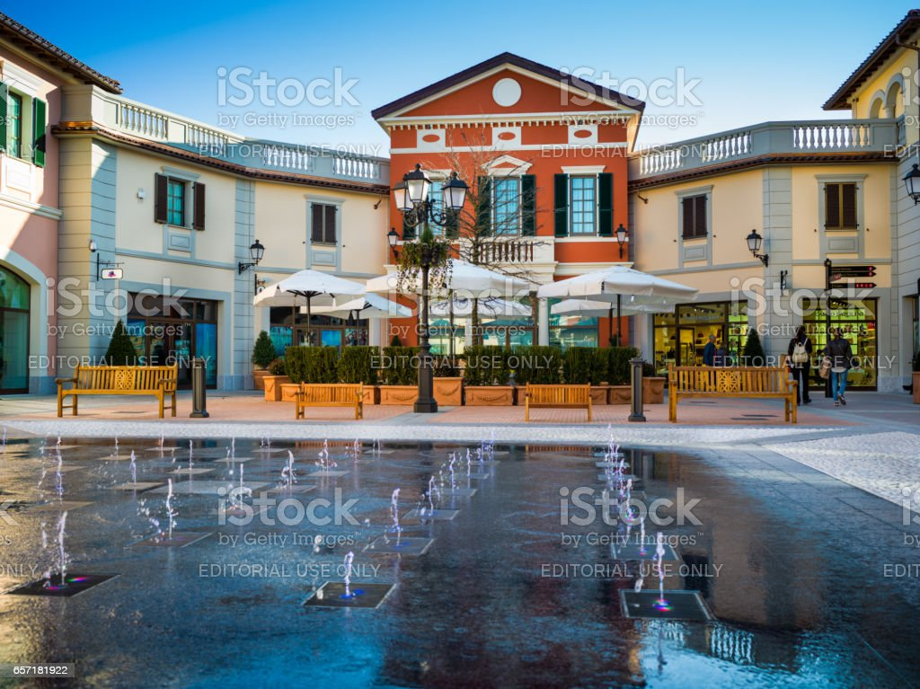 Serravalle scrivia march 17 2017 view at new part of for Serravalle outlet
