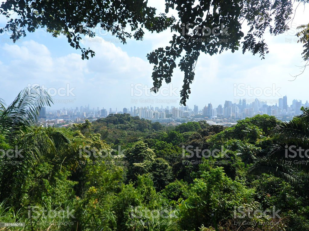View at Panama City - Royalty-free Capital Cities Stock Photo
