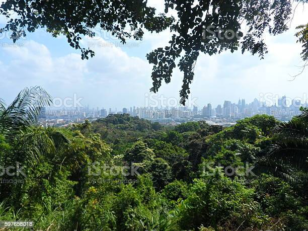 View At Panama City Stock Photo - Download Image Now