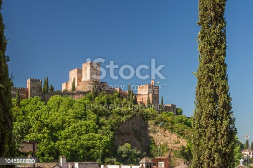 121178604 istock photo View at the Alhambra, Granada, Spain 1045966630