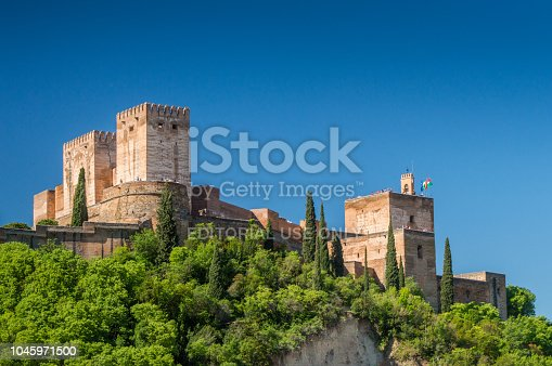 121178604 istock photo View at the Alhambra, Granada, Spain 1045971500