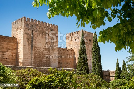 121178604 istock photo View at the Alhambra, Granada, Spain 1045971590