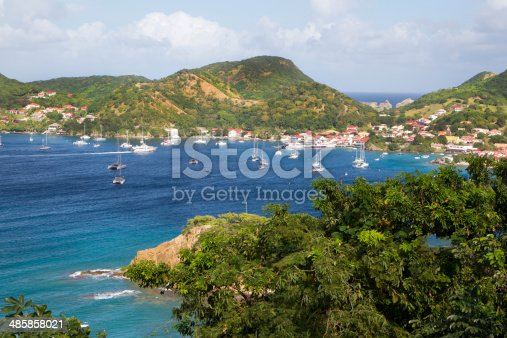 Landscape from the caribbean island Martinique.