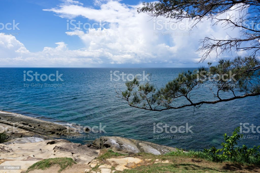 View at Tip of Borneo stock photo