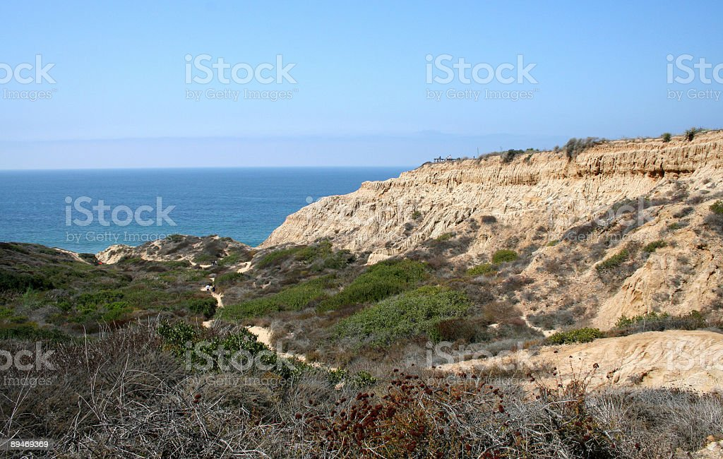 View at Torrey Pines royalty-free stock photo