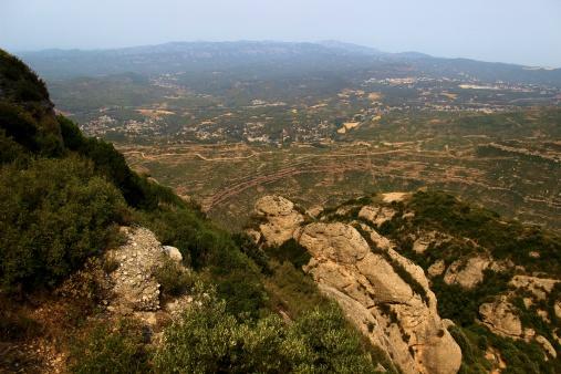 View atop Montserrat