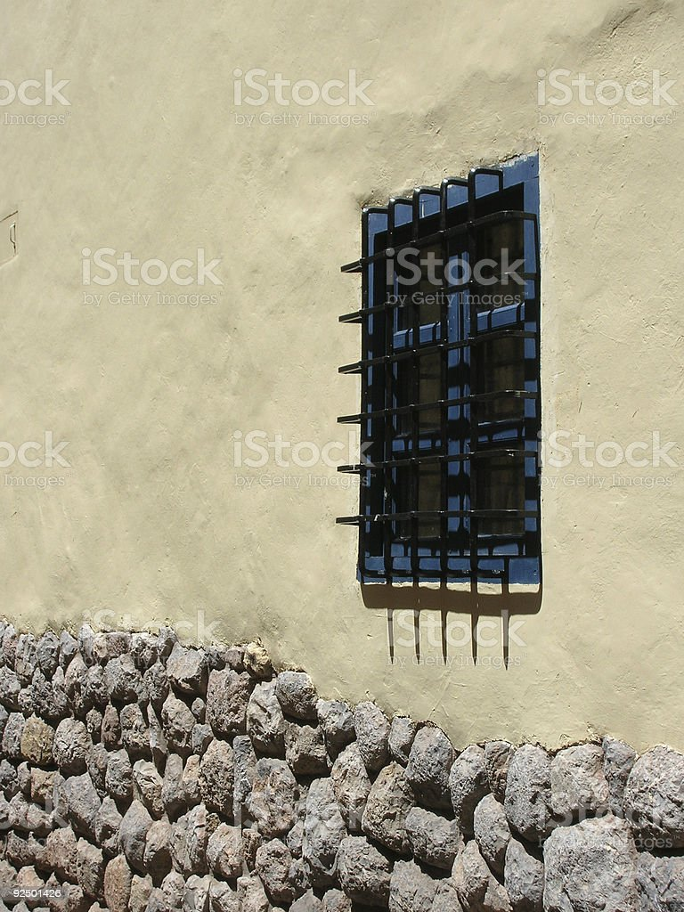 View Barred royalty-free stock photo