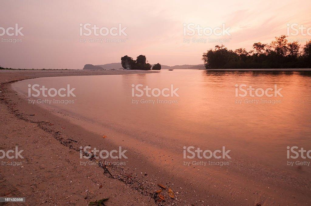 View Beautiful Ocean beaches royalty-free stock photo