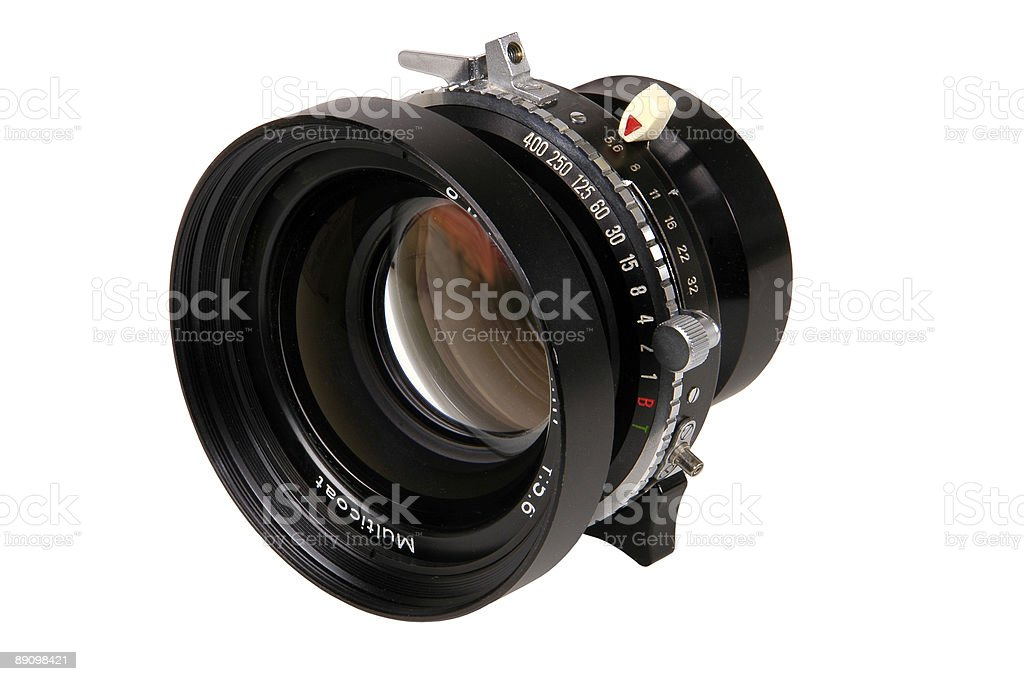 view camera lens royalty-free stock photo
