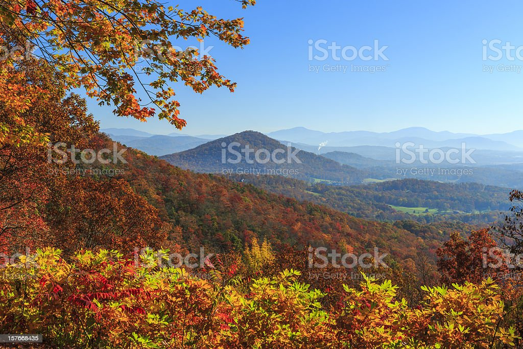 View Chestnut Cove stock photo