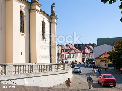 istock View form cathedral on Tumska street. Gniezno, Poland. 994435854