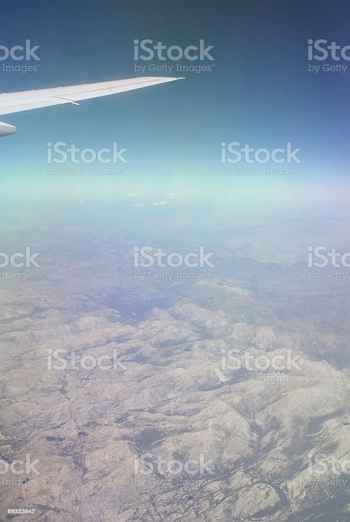 View from 35,000 Feet royalty-free stock photo