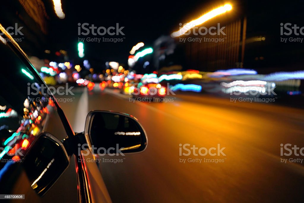 Royalty Free Car Driveway Night Pictures Images And Stock Photos