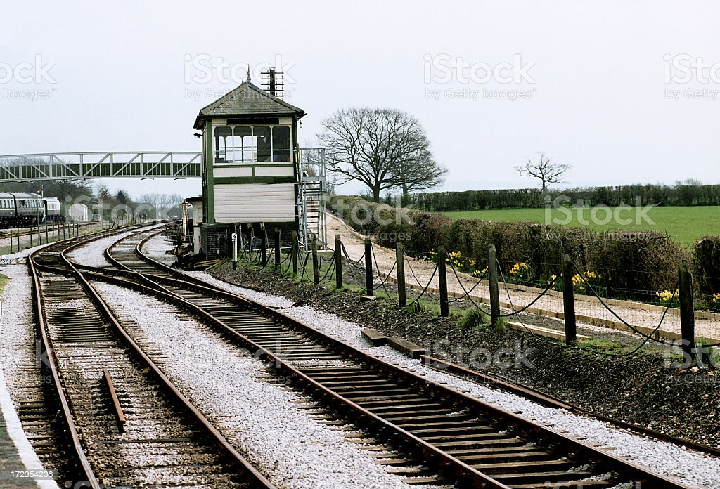 View  from a Railway Museum royalty-free stock photo