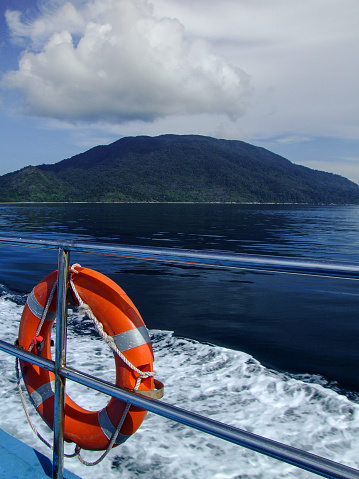 istock View from a ship 545457904