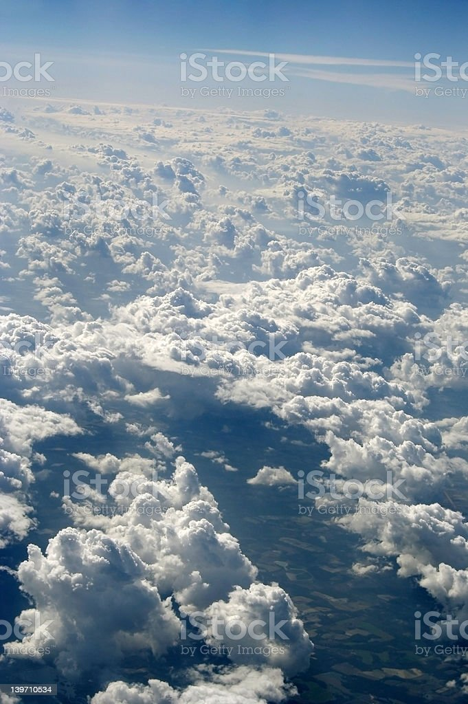 View From Above, Clouds royalty-free stock photo
