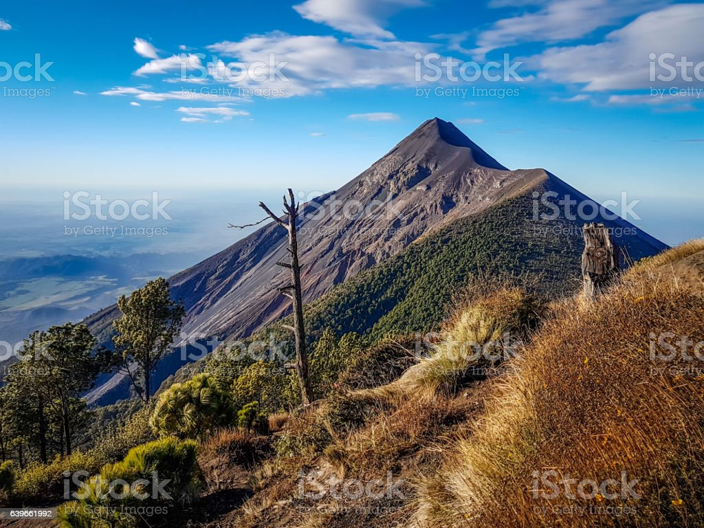 View from Acatenango volcano ,Guatemala - Photo