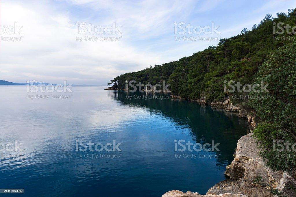 View from Akyaka stok fotoğrafı