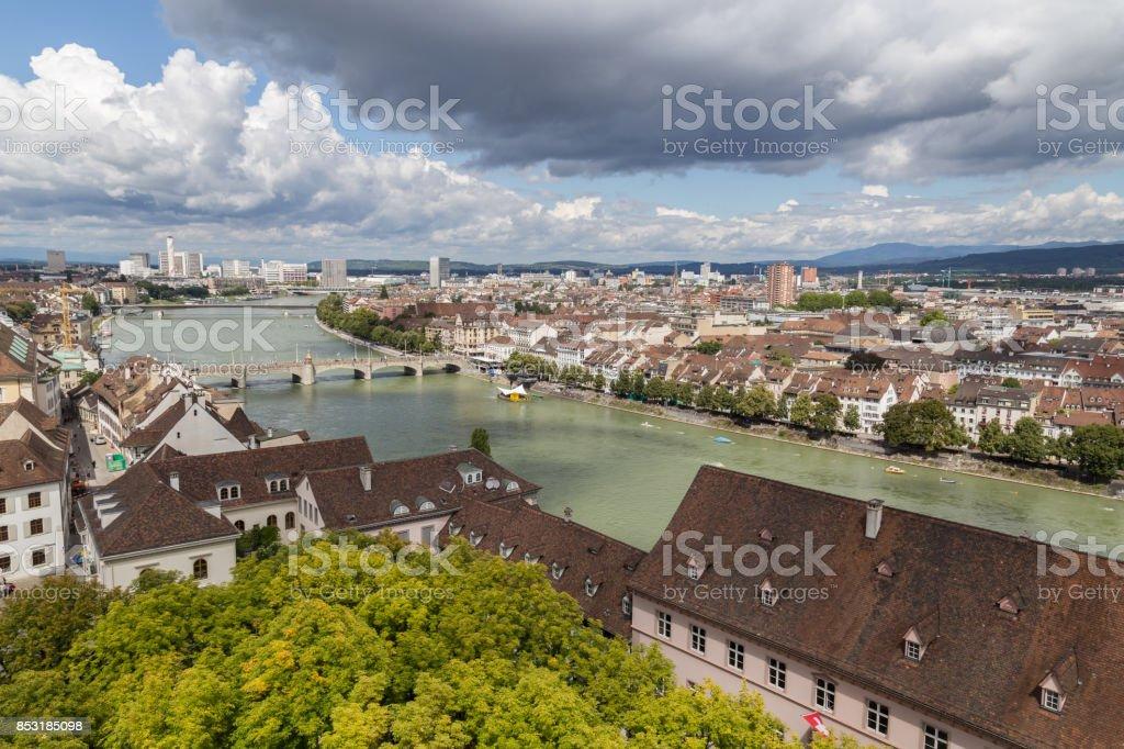 Blick von Basel Minster – Foto