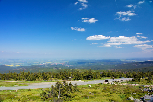 View from Brocken Mountain