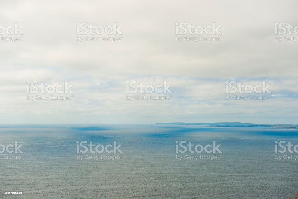 View from Cliffs of Moher, co. Clare, Ireland royalty-free stock photo