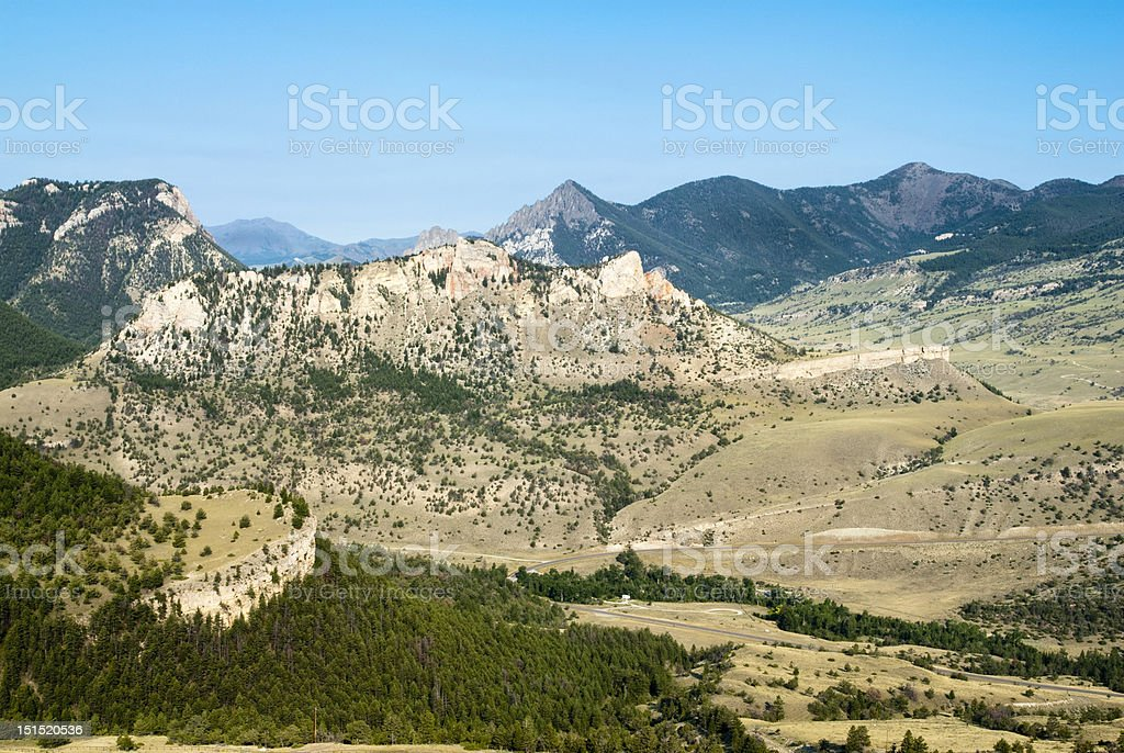 View from Dead Indian Pass stock photo
