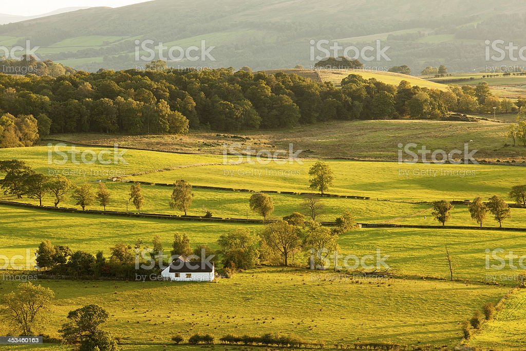 View from Duncryne Hill over Loch Lomond royalty-free stock photo