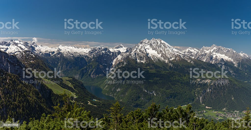 View from Eagle's Nest stock photo
