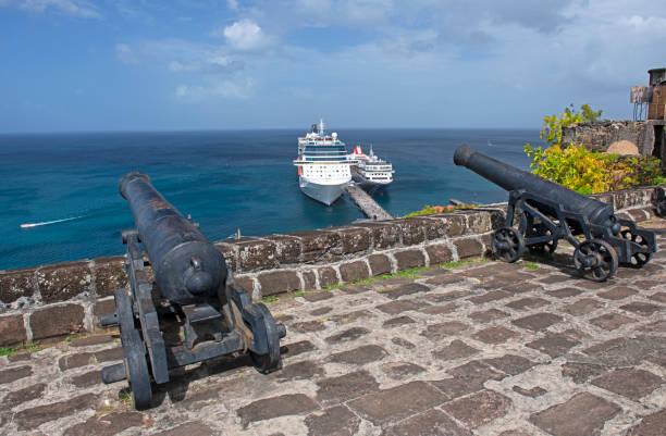 Blick von Fort St. George's, Grenada – Foto