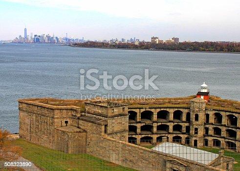 Fort Tompkins Lighthouse Staten Island