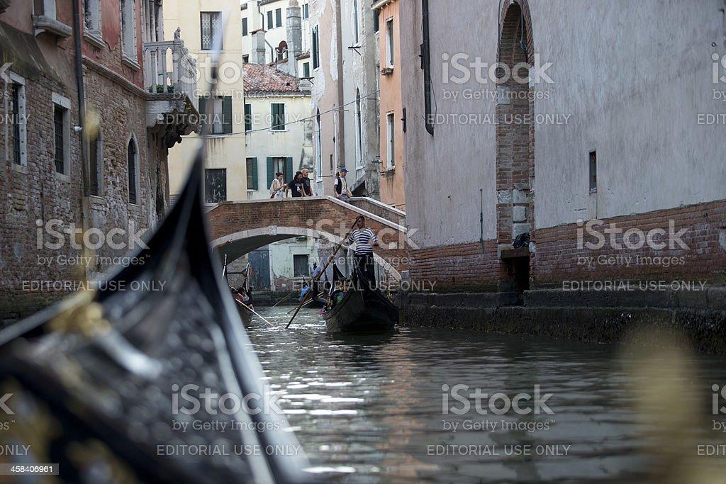 View from Gondola royalty-free stock photo