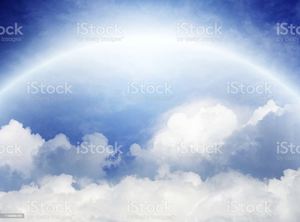 View from heaven royalty-free stock photo