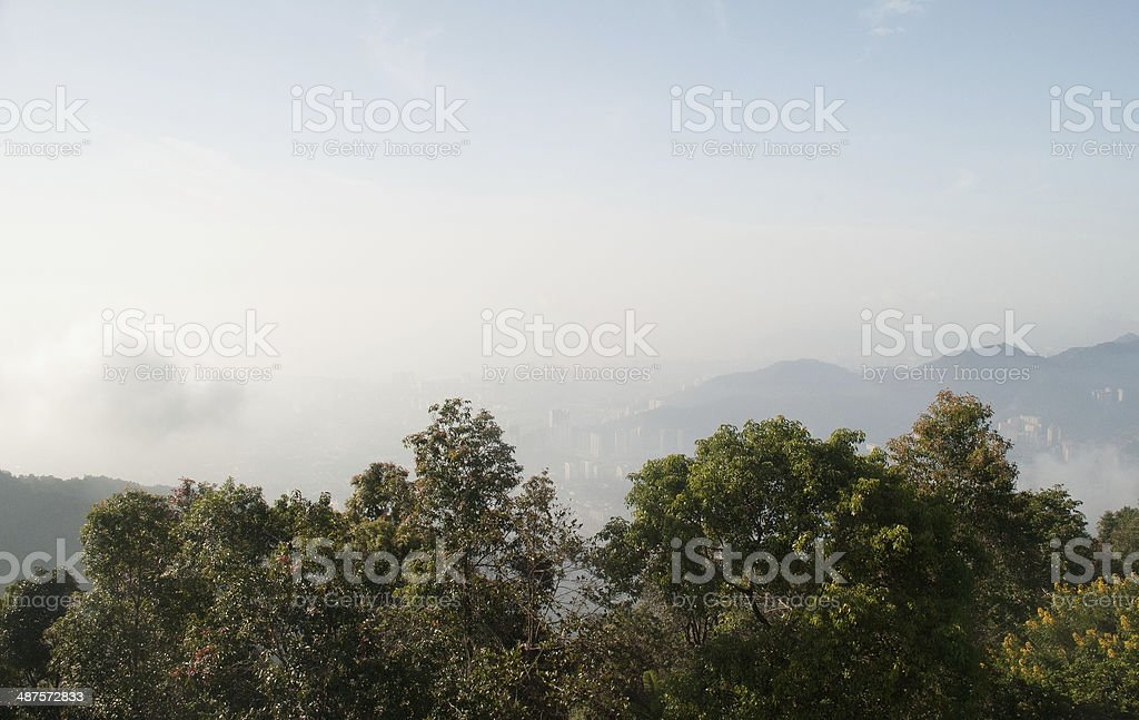 View from high angle stock photo