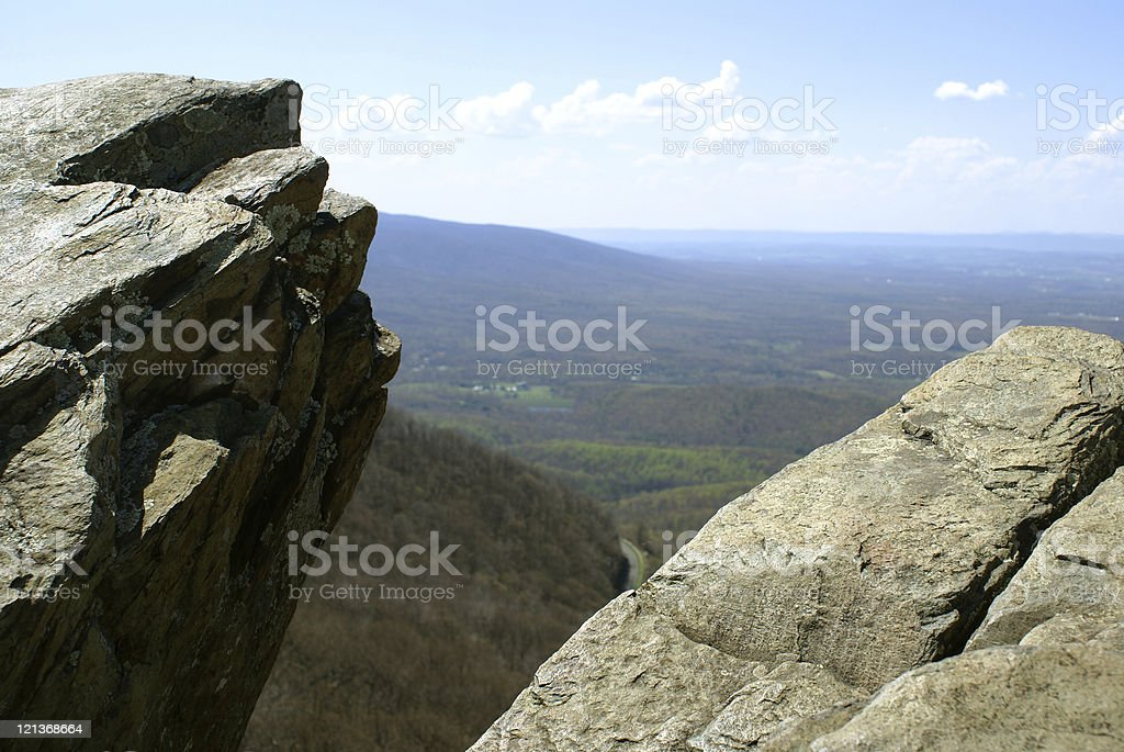 View from Humpback Rocks royalty-free stock photo