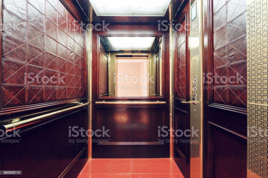 Blick vom im Fahrstuhl – Foto