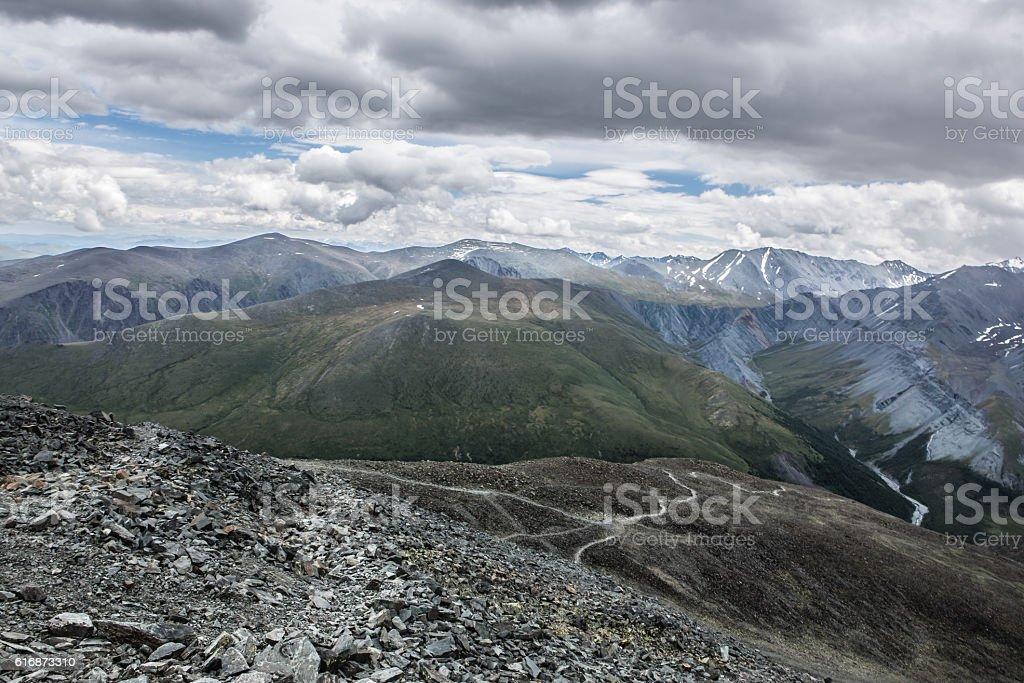 View from Karaturek mountain pass – Foto