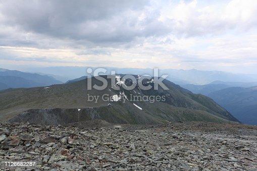 istock View from Kara-Turek Pass, Altai Mountains, Russia 1126682287