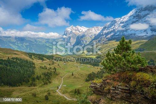 istock View from Kleine Scheidegg at Grindelwald (Berner Oberland, Switzerland) 1058751800