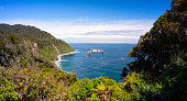 View from Knight's Point, on New Zealand's South Island.