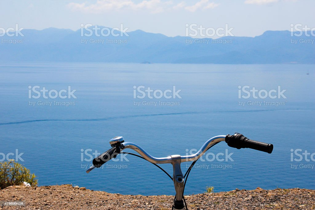 View from Kos stock photo