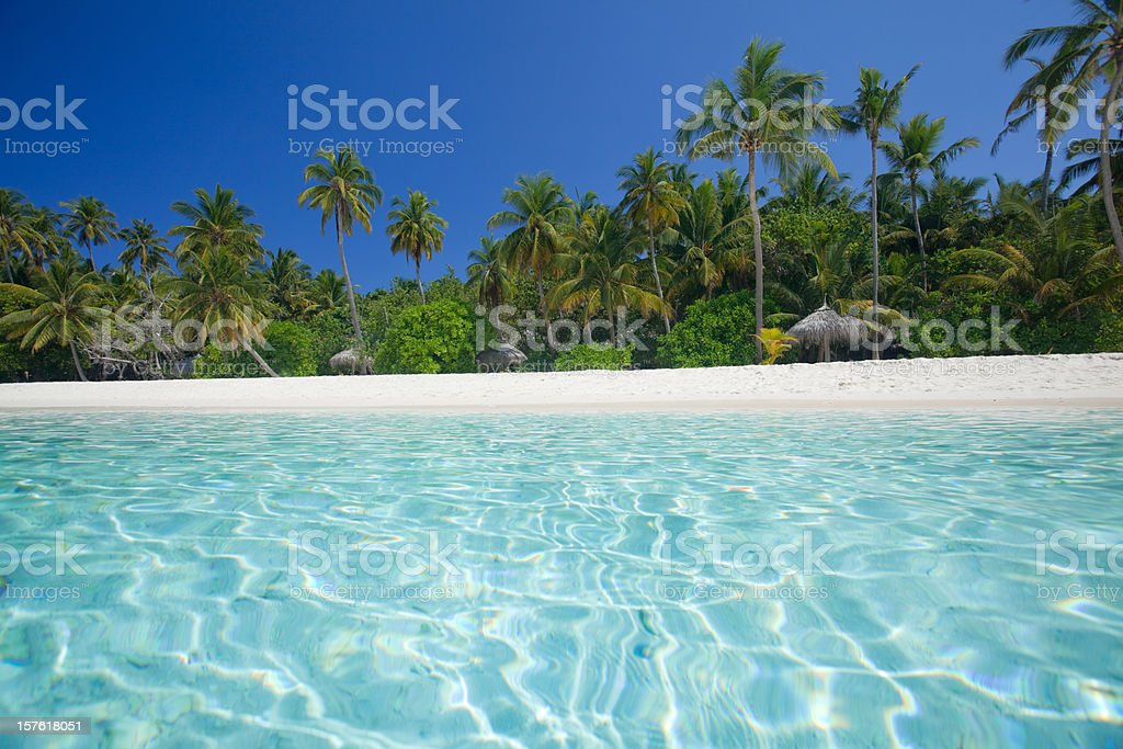 view from lagoon royalty-free stock photo