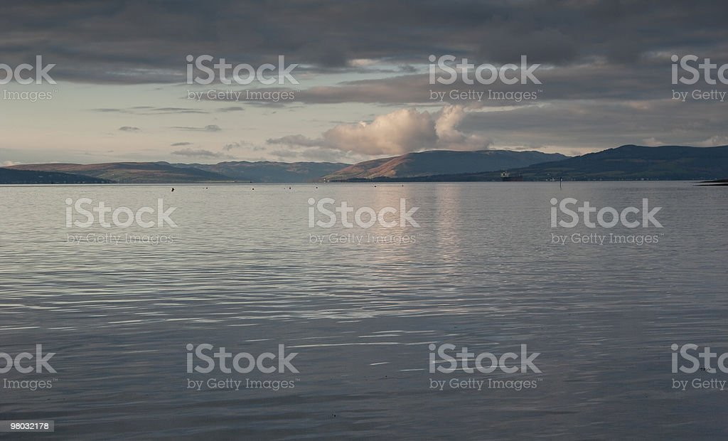 View from Largs royalty-free stock photo