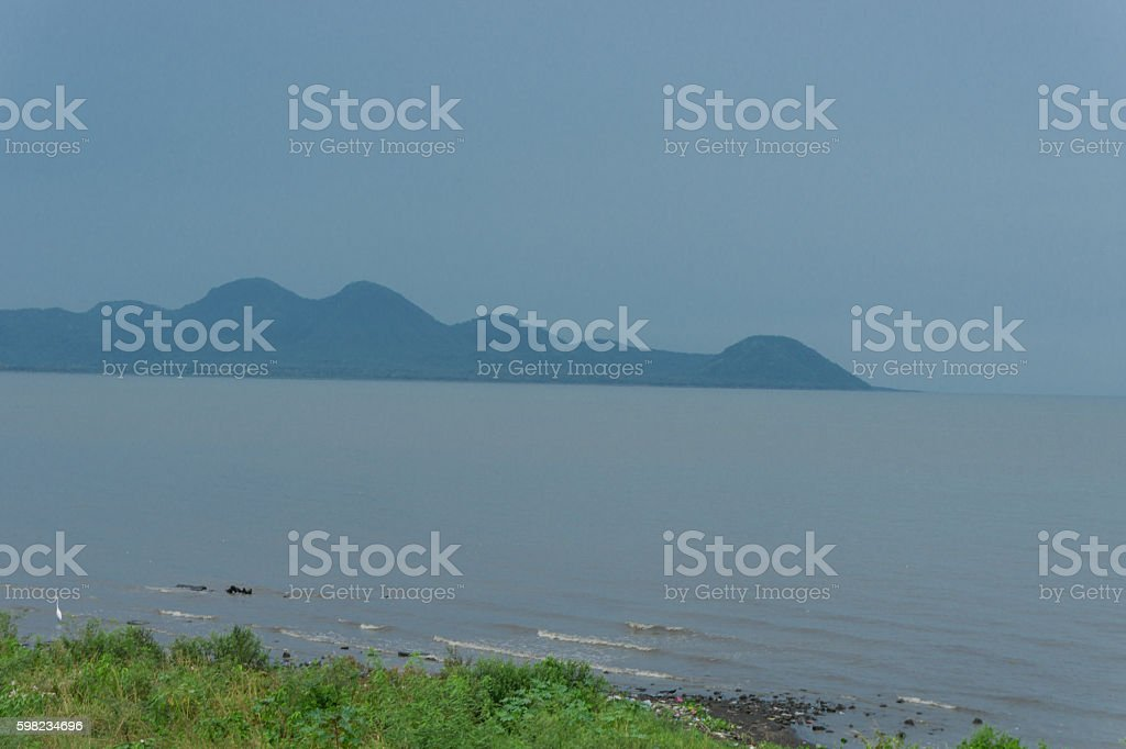 view from Managua lake, Nicaragua foto royalty-free