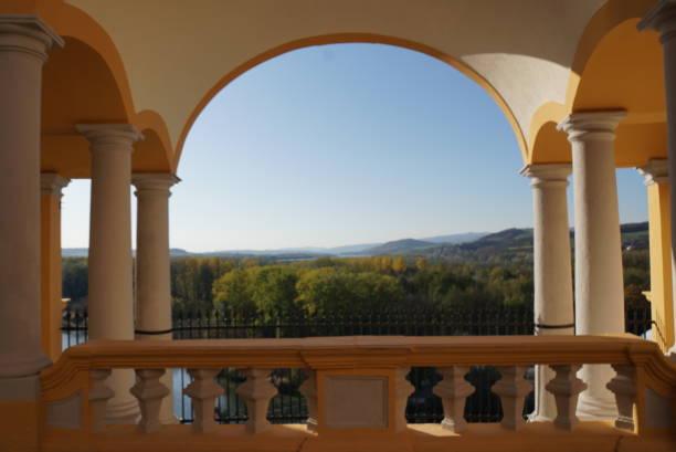 Blick von der Abtei Melk – Foto