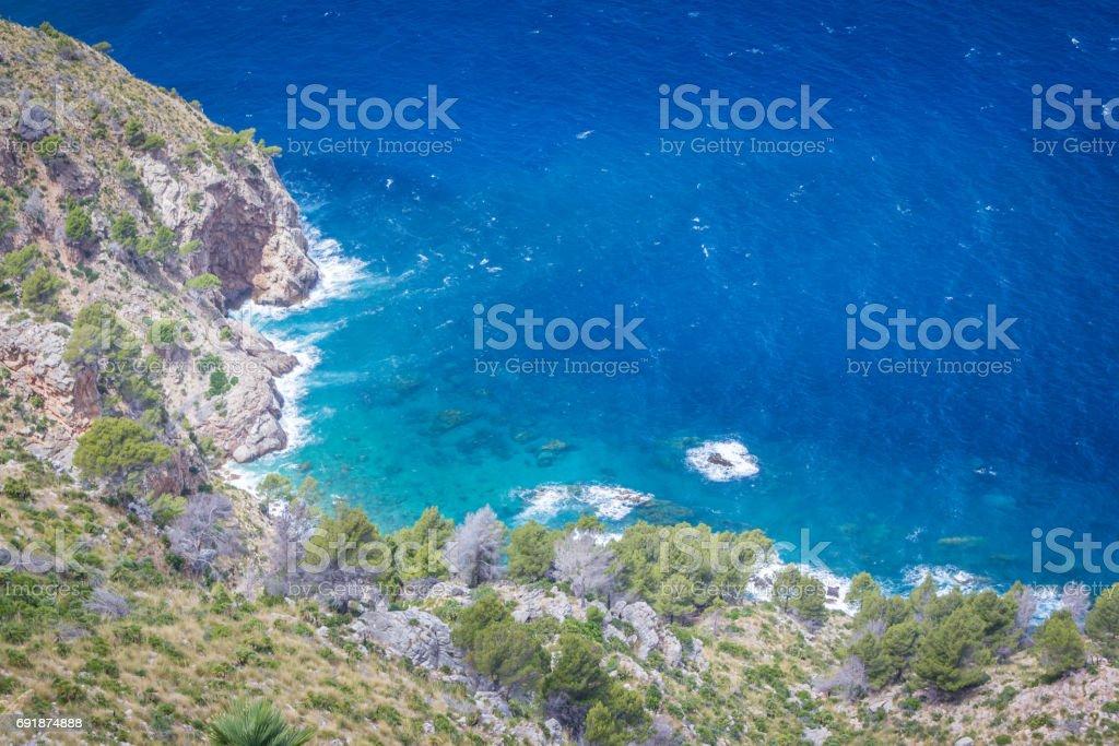 Vista desde Mirador de Ricardo Roca, Mallorca - foto de stock
