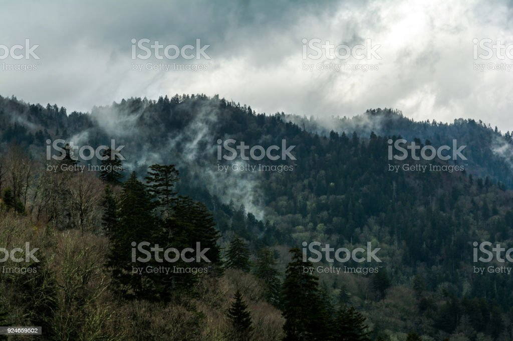View from Morton stock photo
