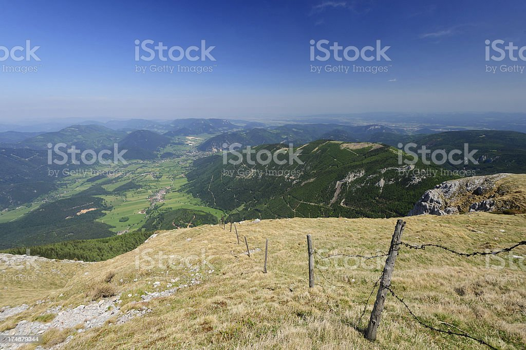 View from Mountain stock photo