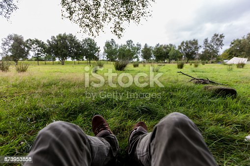 497486952 istock photo View from my tent 873953858