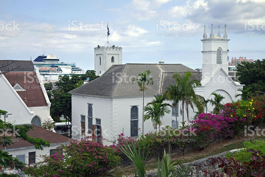 View from Nassau Hill royalty-free stock photo
