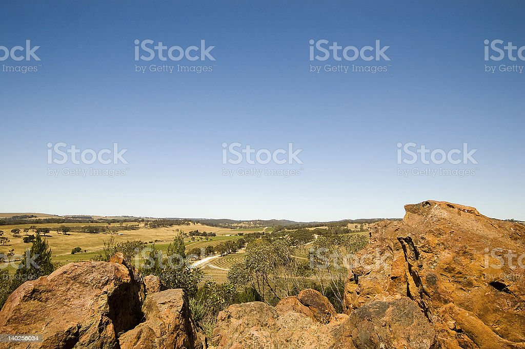 View From Neagle's Rock stock photo